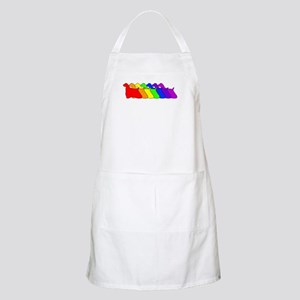 Rainbow Cocker Spaniel BBQ Apron